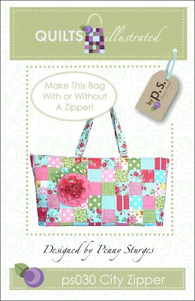 City Zipper Bag Pattern - Click Image to Close
