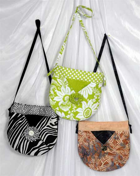 Round-A-Bout Purse Pattern - Click Image to Close