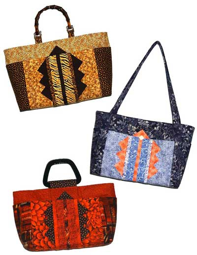 Tri-Tip Tote Pattern - Click Image to Close