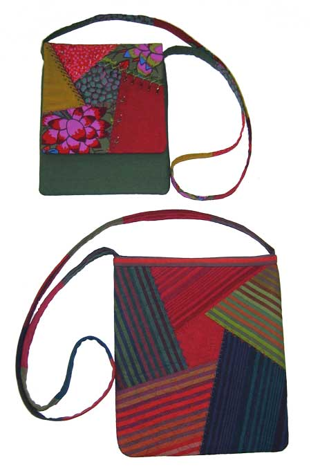 Ruby Goes Crazy Bag Pattern - Click Image to Close