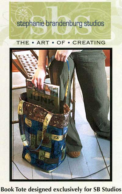 Book Tote Pattern - Click Image to Close