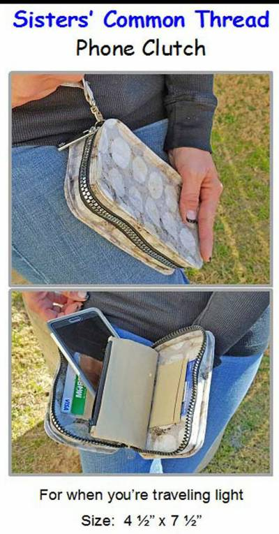 Phone Clutch Pattern - Click Image to Close