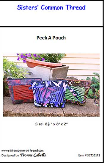 Peek A Pouch Pattern - Click Image to Close