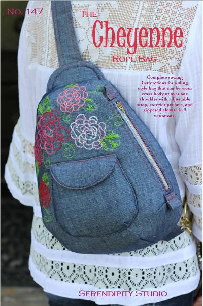 The Cheyenne Rope Bag Pattern - Click Image to Close
