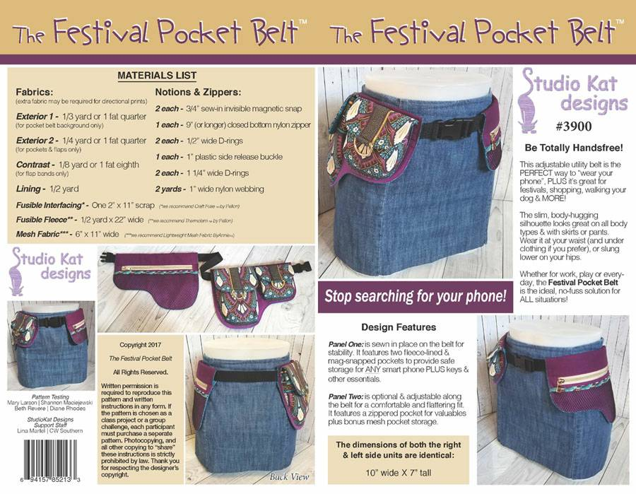 The Festival Pocket Belt Pattern * - Click Image to Close