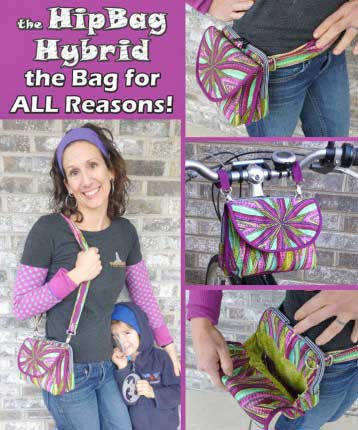 The HipBag Hybrid Pattern * - Click Image to Close
