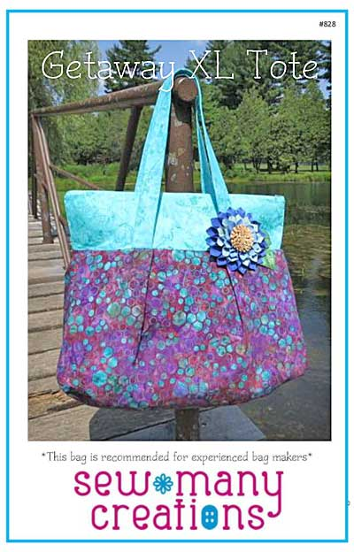 Getaway XL Tote Pattern * - Click Image to Close
