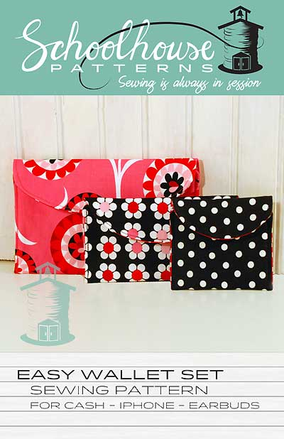 Easy Wallet Set Sewing Pattern * - Click Image to Close