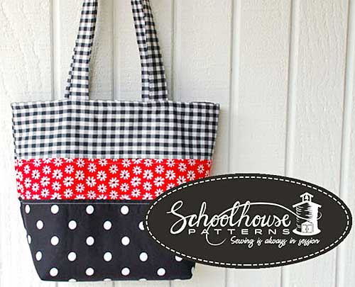 Patchwork Tote Sewing Pattern - Click Image to Close