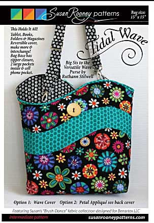 Tidal Wave Bag Pattern * - Click Image to Close