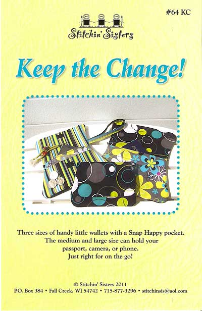Keep The Change Pattern - Click Image to Close