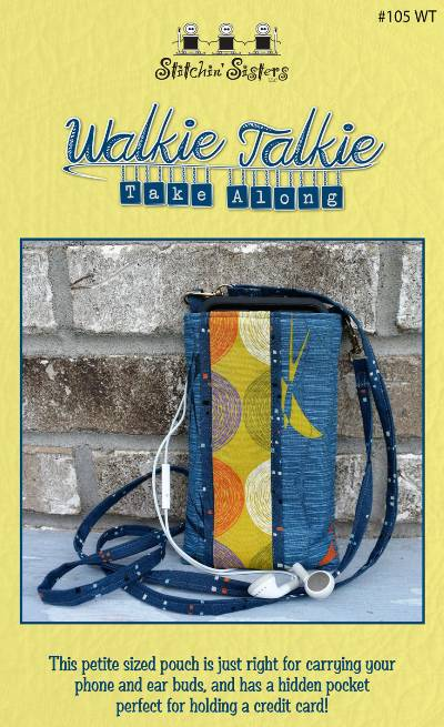 Walkie Talkie Take Along Pouch Pattern - Click Image to Close