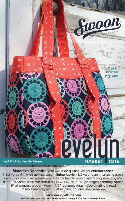 Evelyn Market Tote Pattern * - Click Image to Close