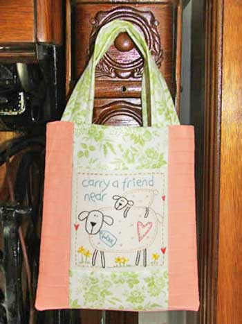Carry A Friend Tote Pattern - Click Image to Close