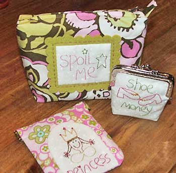 Spoil Me Purses Pattern - Click Image to Close