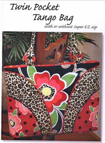 Twin Pocket Tango Bag Pattern - Click Image to Close