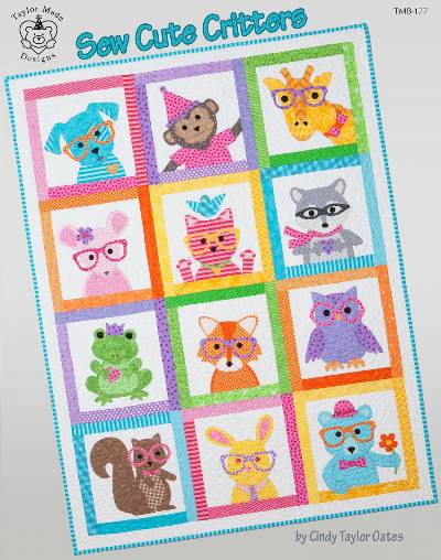 Sew Cute Critters Pattern Booklet - Click Image to Close