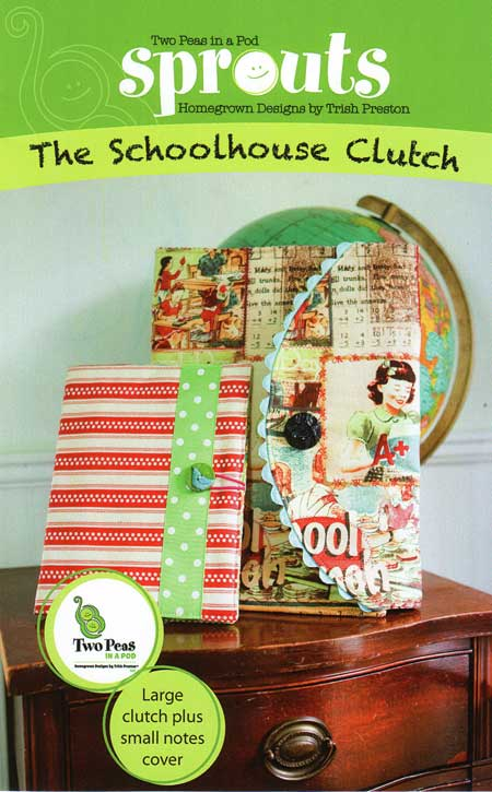 The Schoolhouse Clutch Pattern * - Click Image to Close