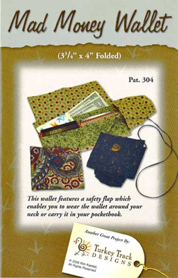 Mad Money Wallet Pattern - Click Image to Close