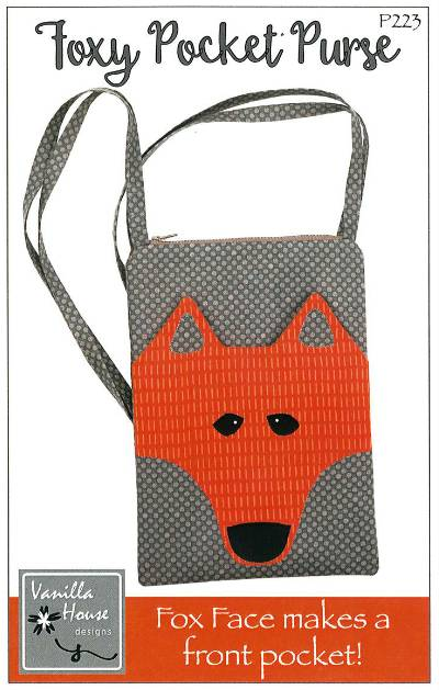 Foxy Pocket Purse Pattern - Click Image to Close