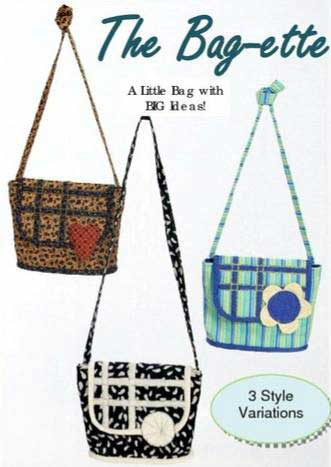 The Bag-ette Bag Pattern - Click Image to Close