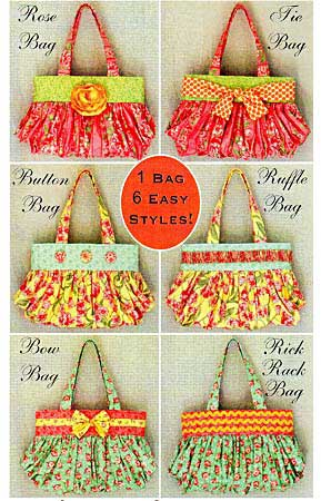 Six In The City Bag Pattern - Click Image to Close