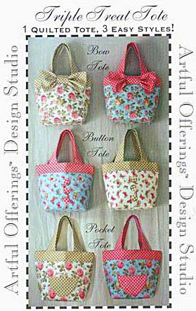 Triple Treat Tote Pattern - Click Image to Close