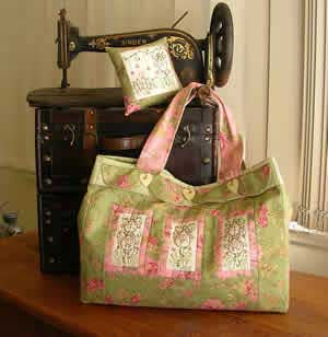 Cottage Garden Bag Pattern - Click Image to Close