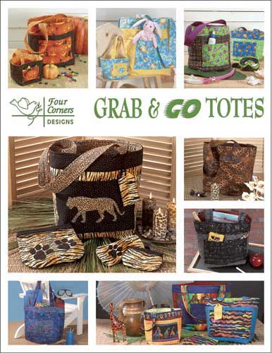 Grab And Go Totes Pattern Booklet - Click Image to Close