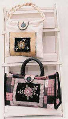 Purses and Posies Pattern - Click Image to Close