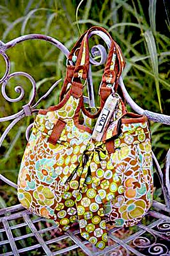 Lola Goes Shopp'n Arm Bag Pattern * - Click Image to Close
