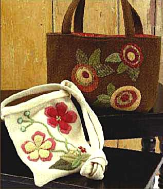 Bouquet Bags Pattern - Click Image to Close