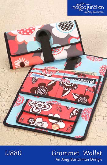 Grommet Wallet Pattern - Click Image to Close