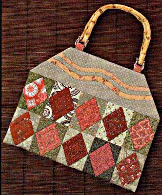 Field of Diamonds Bag - Kimies Quilts Bag Pattern - Click Image to Close