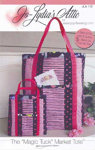 Magic Tuck Market Tote - Click Image to Close