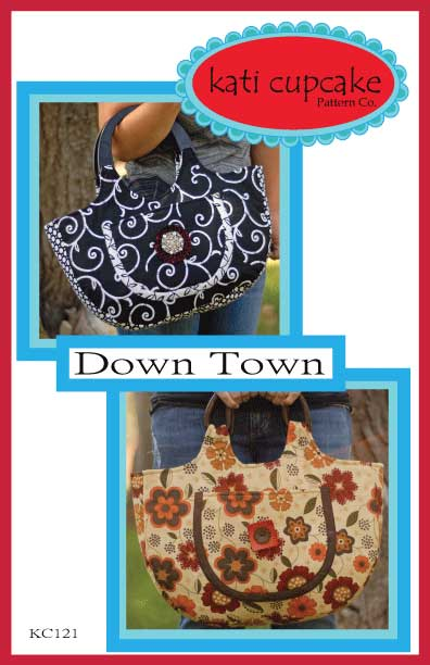 Down Town Bag Pattern * - Click Image to Close