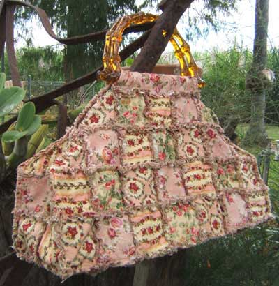 Vintage Shaggy Bag Pattern - Click Image to Close