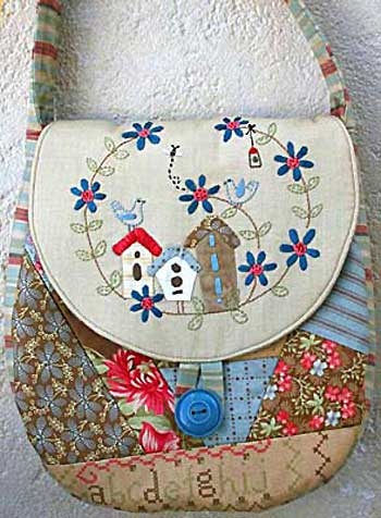 Birdhouse Flap Bag Pattern * - Click Image to Close