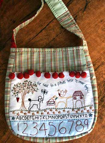 Friends House Bag Pattern * - Click Image to Close
