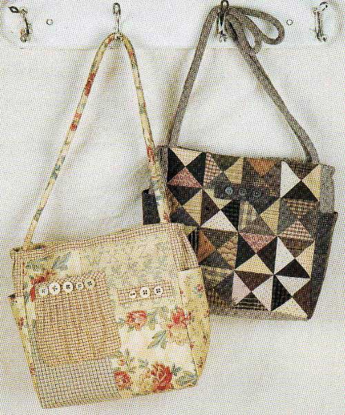 Patches and Pockets Bag Pattern - Click Image to Close