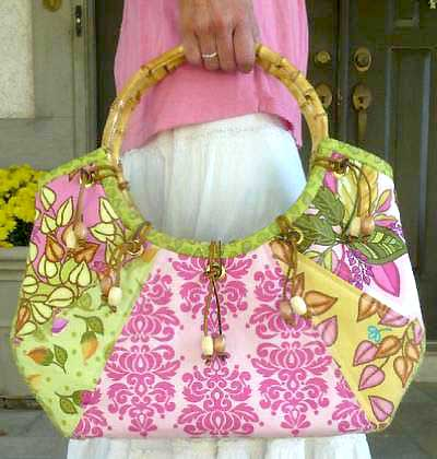 Retro Groovy Bag Pattern * - Click Image to Close