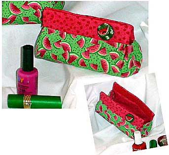 Carolyn's Little Bitty Bag Pattern * - Click Image to Close