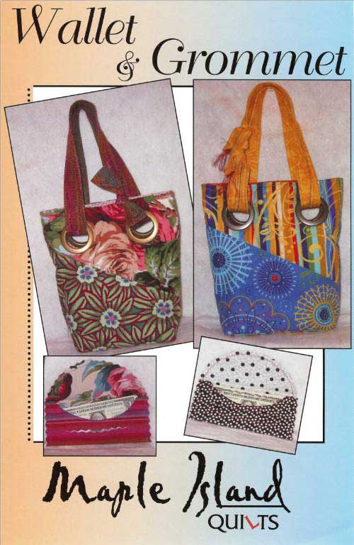 Wallet and Grommet Bag Pattern - Click Image to Close