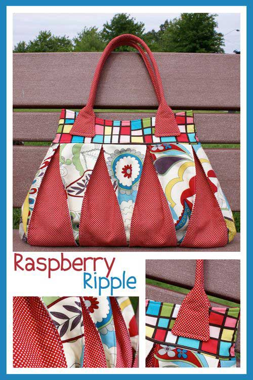 Raspberry Ripple Bag Pattern * - Click Image to Close