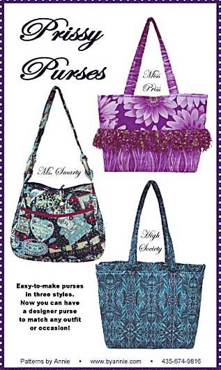 Prissy Purses Pattern - Click Image to Close