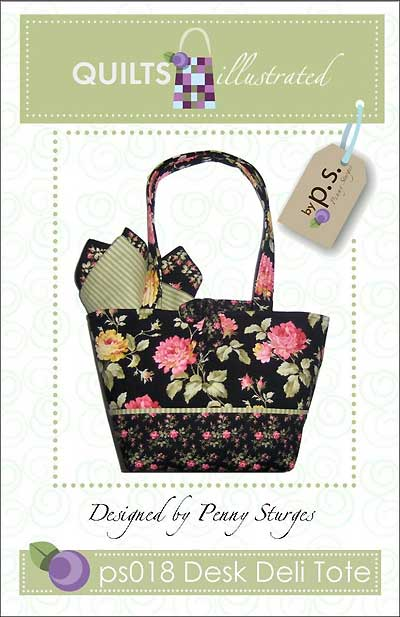 Desk Deli Tote Pattern - Click Image to Close