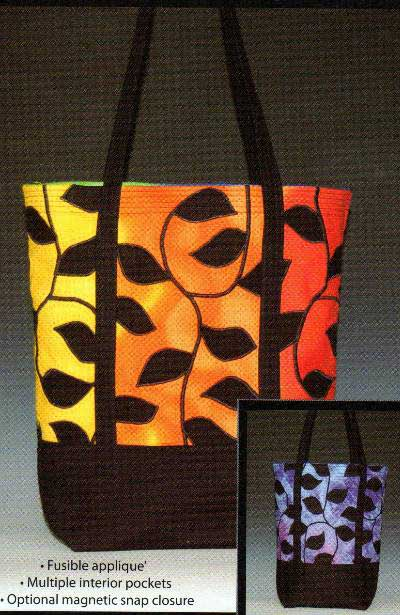 Tangletown Tote Bag Pattern - Click Image to Close