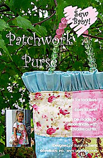 Patchwork Purse Pattern * - Click Image to Close