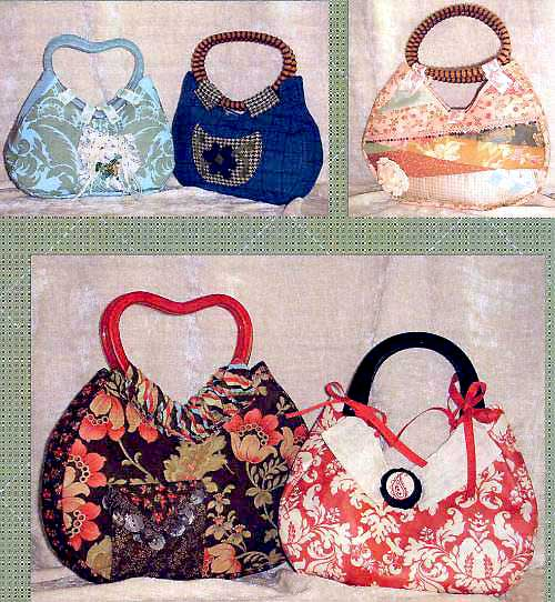 Happy Little Handbag Pattern * - Click Image to Close