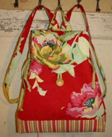 Savannah Backpack Pattern - Click Image to Close